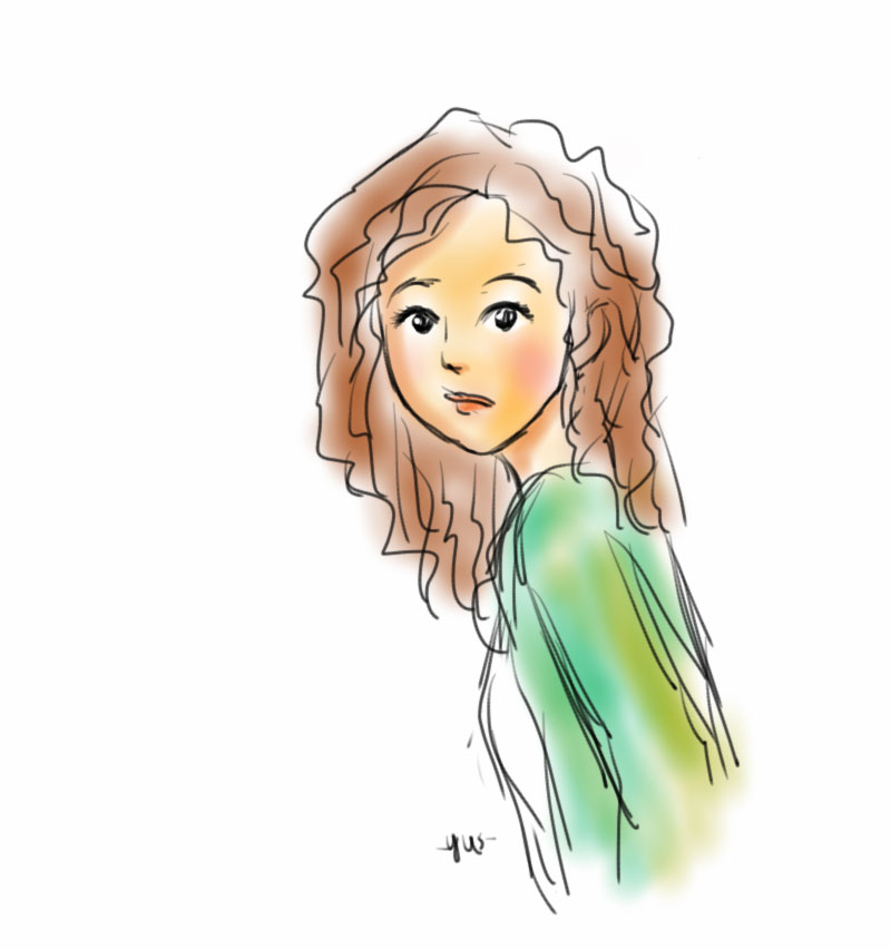 Daily Drawing - 21 Oct 2015 using Autodesk Sketchbook Pro