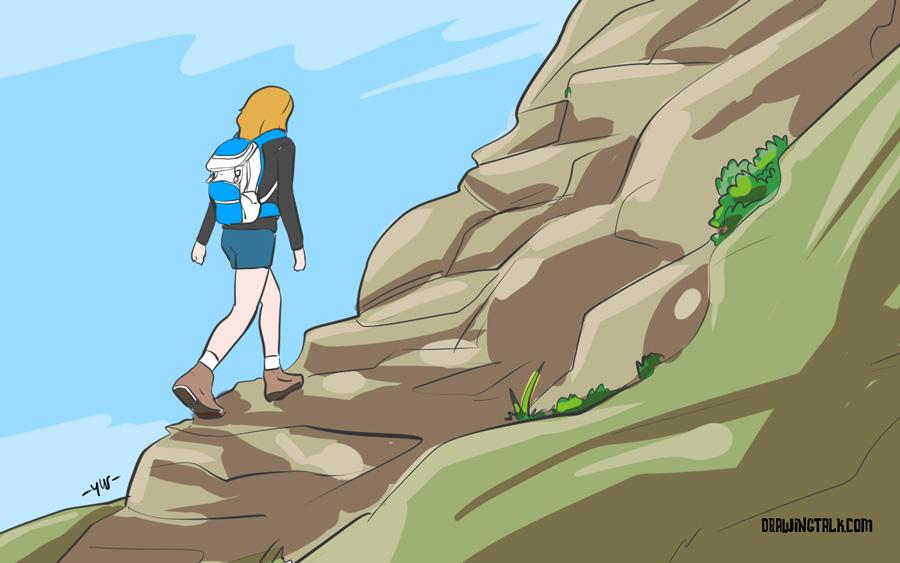 fun activity - hiking