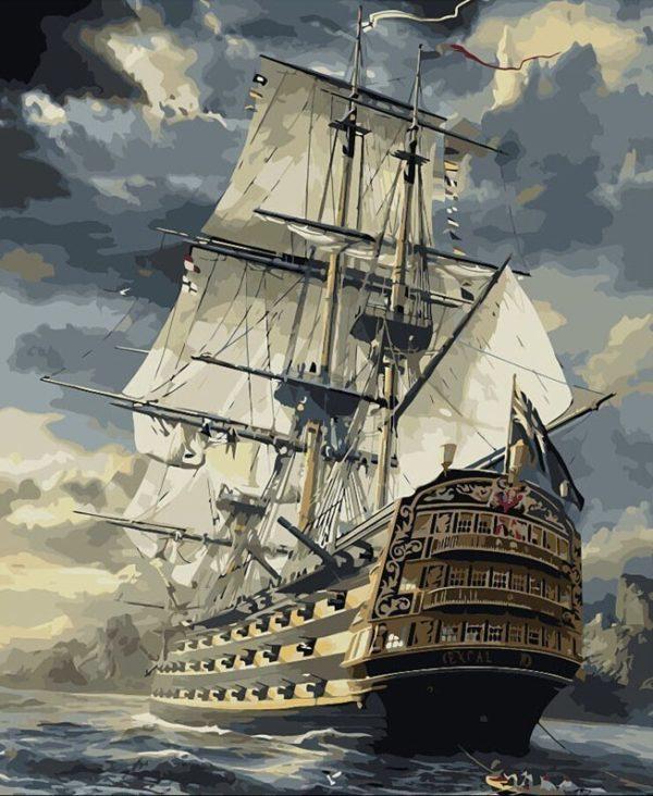 DIY Painting - Sailing Boat