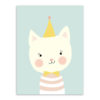 stripe little cat