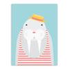 stripe groundhog