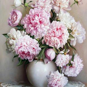 BEAUTIFUL FLOWER DIY PAINTING